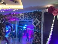 东莞婚庆舞台搭建 主题背景板出租 舞台灯光布置
