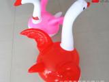 供应充气动物沙包鹅 充气不倒翁玩具大飞鹅天鹅 厂家直销批发