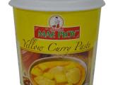 供应MAE PLOY泰国顶级黄咖喱酱 咖哩膏 泰式咖喱 1000