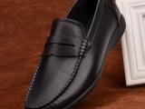 广东广州皮鞋 鹤山工厂直供爆款男士休闲鞋 舒适软底软面牛皮