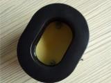 TPU皮 耐高低温硅胶海绵套 吸塑成型胶件上直接电压皮耳套