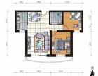 米东南路钰湖铭城高层85平米毛坯2室2厅走新房手续不用过户