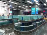 长沙超市养鱼池制作客户至上 超市海鲜鱼池定做