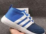 adidas阿迪达斯男鞋 男女情侣跑步鞋