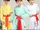儿童武术表演服装男女童民族中国功夫练功服