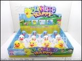 儿童玩具 上链小鸭子 发条鸭子 还会摇头摆尾  学爬 好帮手 盒
