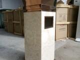 电镀室内方形不锈钢垃圾桶不锈钢果皮箱厂家直销