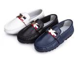2014新款大童儿童皮鞋 春秋季女童男童真皮豆豆鞋子 韩版单鞋