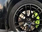 奔驰GLS450刹车升级改装AP85六活塞刹车卡钳