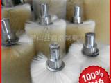马口铁清洗毛刷辊矽钢片清洗辊刷尼龙丝钢带缠绕滚刷酸洗线尼龙刷