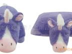 供应金洋创意 填充毛绒玩具公仔动物大抱枕头变形靠枕 独角兽