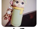 天使款保温杯学生饮水杯 3d立体图案便携