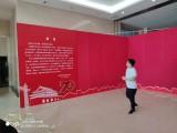 北京优图会展字画布展策划 画框展示板架安装 展会展位墙体布置