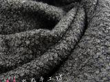 2014秋冬布料 大牌欧美灰白色千岛呢圈圈呢面料 秋冬大衣外套布料
