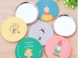 T 韩国TODAC 可爱卡通小镜子便携化妆镜 随身圆形镜化妆镜厂