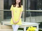 2014夏季新韩版修身个性镂空短袖T恤雪纺衫小衫女上衣0225711838