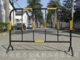 热销移动黄黑防撞铁马护栏 不锈钢安全隔离铁马 河南新力