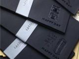 黑色烫金装饰信封 明信片收纳放信封 红包信封 个性信封单款5枚入