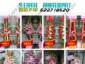 钟楼花店玫瑰百合康乃馨母亲节情人节生日鲜花开业花篮