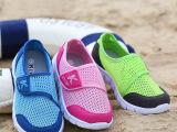 品牌童鞋2015夏季中小儿童运动鞋男童女童网面镂空防滑透气网鞋潮