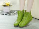 厂家直销 一件代发2014欧洲站新款女靴真皮女鞋秋季靴子洞洞靴子