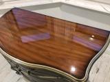 實木家具餐桌鋼化玻璃貼膜透明保護膜安裝