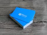 高端名片設計印刷 只要4.5元/盒 不包郵包設計