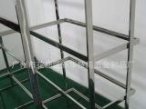 中高档不锈钢服装展示架 层板放包架 服装