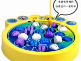 出口外贸海*绵-宝宝钓鱼游戏 电动钓鱼玩具 亲子钓鱼玩具 0.7