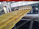 江苏艾斯曼机械推出800型3毫米合成树脂瓦生产线