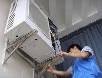 南宁奥克斯空调清洗保洁维修不制冷加雪种