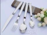 厂家定制不锈钢 刀叉勺三件套月饼小刀叉水果刀叉儿童小号刀叉