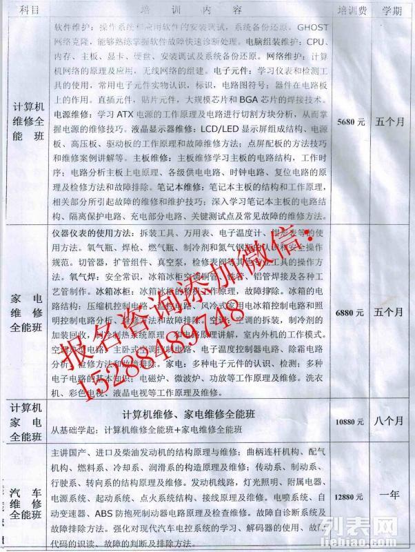 云南省特种作业电工焊工操作证培训