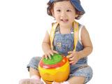 正品澳贝宝宝音乐拍拍鼓奥贝幼儿童婴儿发光欢乐手拍鼓玩具