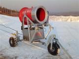 建一个滑雪场需要多少钱 大小型造雪机价格造价滑雪场面积