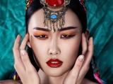 松江化妆造型,96.32%的人都选茜茜
