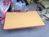 供应新疆伊犁HG-0015型学生单人课桌椅厂家