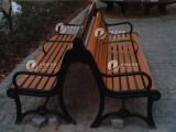 新疆天地盈塑木休闲椅