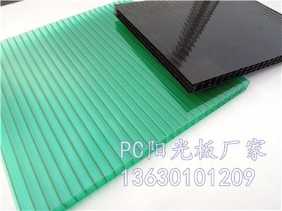 18mm阳光板 12mm阳光板 湖蓝阳光板 绿色阳光板厂家