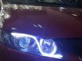 本田08思域车灯大灯升级改装加装透镜恶魔眼泪眼