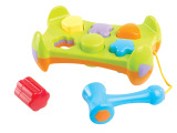新奇特敲打积木 婴幼儿童练习敲击能力玩具 爆款地摊益智玩具新品