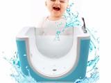 广州 鸣蝉 亚克力婴儿游泳池单面玻璃浴缸泳馆家用