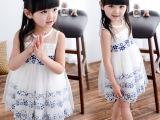 2015女童裙子夏装连衣裙儿童公主裙六一儿童表演裙宝宝蓬蓬裙纱裙