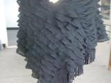 厂家直销 2014 欧美流行大百叶套头 外贸披肩