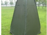 户外多用途帐篷 带窗沐浴帐 涂银更衣帐 WC帐篷 厕所帐篷 模特