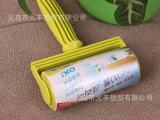 中号清洁胶带粘尘纸+手柄滚筒粘毛纸粘性强16CM*8M 淘宝热卖