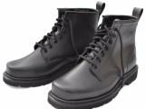 01单钢头钢板防护军靴短靴真皮特种兵户外军勾系带短筒单鞋