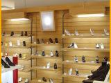 上海市生产供应 多功能鞋子展架 木质烤漆展示架 多款任选