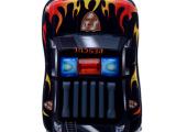 新款3D警车儿童拉杆书包 小学生拉杆箱包硬壳EVA 儿童行李箱