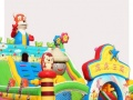 供应儿童乐园充气城堡儿童游艺设施卡通主题淘气堡定做